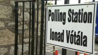 polling station sign generic