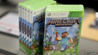 Xbox version of Minecraft