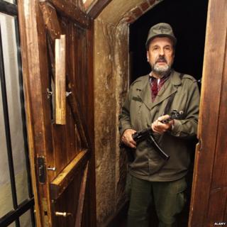 The doorman at Kryjivka