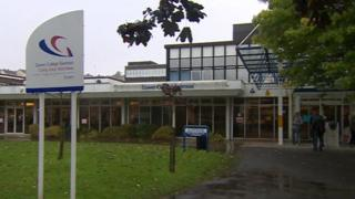 Gower College in Swansea