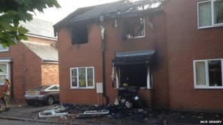 Devonshire Road East fire