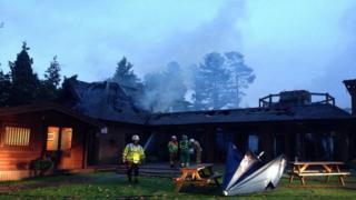 Kenwick Park Leisure Centre fire
