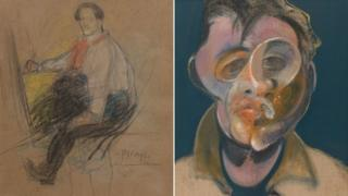 Self-portraits by Pablo Picasso and Francis Bacon