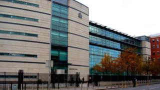 Proceedings were put on hold at Belfast Magistrates Court on Monday