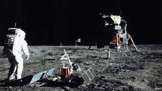 Lunar landing, 1969
