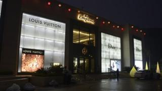 DLF shopping mall
