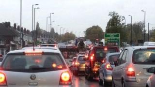 Traffic talkbacks on the A34