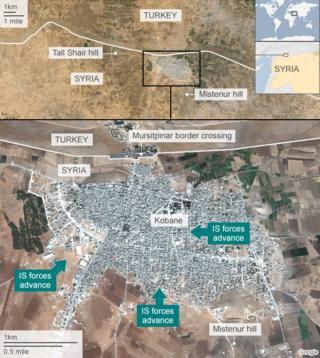 Islamic State crisis: US intensifies airs strikes in Kobane