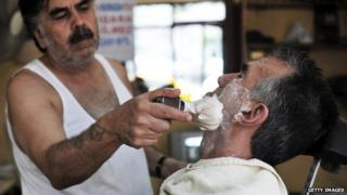 Turkish barber shop