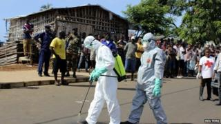 Ebola winning the race, says UN official Anthony Banbury