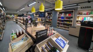 Finnish alcohol shop