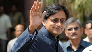 Shashi Tharoor file photo
