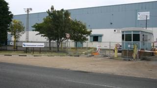 Disused Thamesteel plant