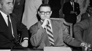 David Greenglass at a committee hearing in Washington, 1956