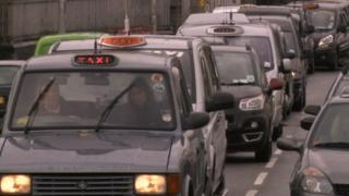 Taxis in convoy