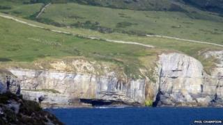 Cliffs near Worth Matravers