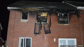 whitburn house fire