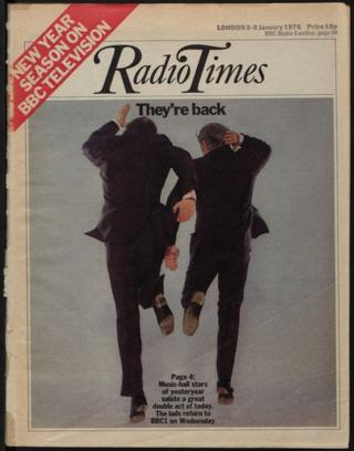 Radio Times cover from 1976