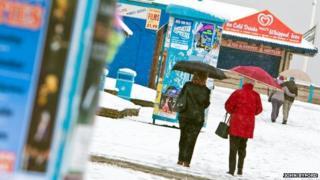 Skegness in winter