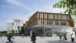 Learning Commons, Waterside, Northampton University