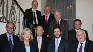 Welsh secretaries at reception