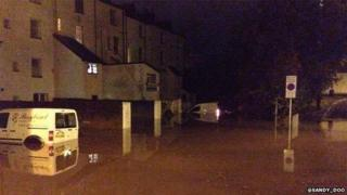 Flood Exeter