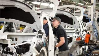 Car worker at Nissan, Sunderland