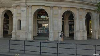 Waterstones store at Trafalgar Square
