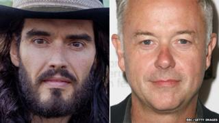 Russell Brand and Michael Winterbottom