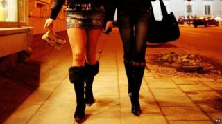 Prostitutes in Lithuania - file pic