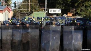 Dale Farm traveller eviction