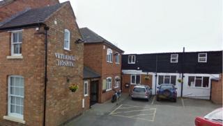 De Montfort veterinary hospital in Evesham