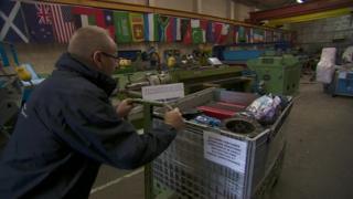 Warehouse aid