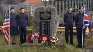 Memorial stone in Brookway, Prenton