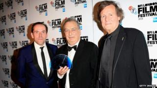 Ben Miller, Stephen Frears and Sir David Hare