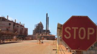 Rio Tinto refinery, Gove