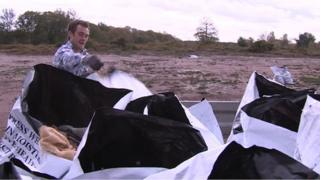 Clear-up of Marsham rave