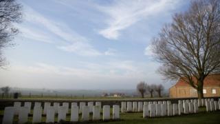 Messines Ridge graves