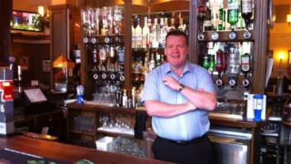 Peter Ross from the Railway Tavern has joined the SNP following the referendum