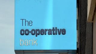 Co-op Bank sign
