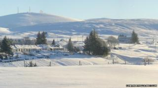 Lowther Hills in winter