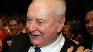 Gough Whitlam, pictured in September 2004