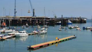 Guernsey's St Peter Port Harbour