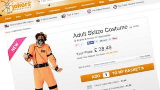 Adult Skitzo Costume