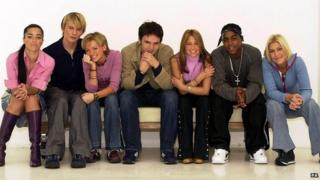 S Club 7 in 2002