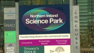 Northern Ireland Science Park sign