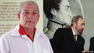 Cuban doctor Leonardo Fernandez, 63, poses for a picture in Havana, October 21, 2014.