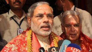 PM Narendra Modi is accused of using Diwali for political purposes
