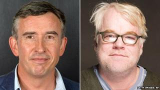 Steve Coogan and Philip Seymour Hoffman