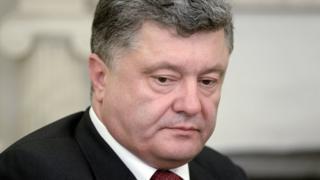 Ukrainian President Petro Poroshenko.